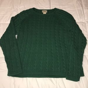L.L. Bean Cable Knit Sweater